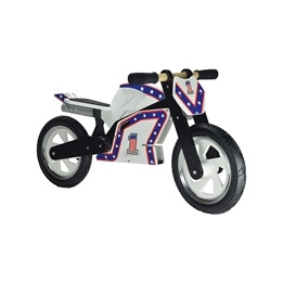 Kiddimoto - Balanscykel - Superbike Hero - Evel Knievel