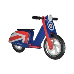 Kiddimoto - Balanscykel Brit Pop Scooter