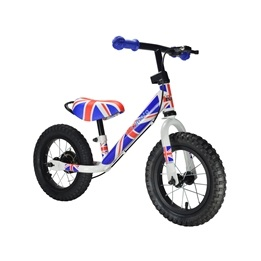 Kiddimoto - Balanscykel - Super Junior Max - Union Jack