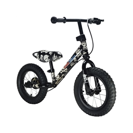 Kiddimoto - Balanscykel - Super Junior Max - Skullz