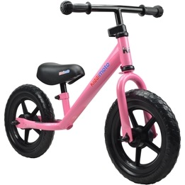 Kiddimoto - Balanscykel - Super Junior - Pretty Pink