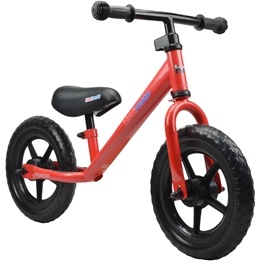 Kiddimoto - Balanscykel - Super Junior - Flame Red