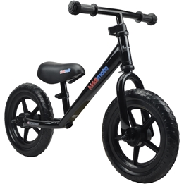 Kiddimoto - Balanscykel - Super Junior - Deep Black