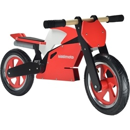 Kiddimoto - Balanscykel - Superbike Röd/Vit