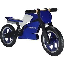 Kiddimoto - Balanscykel - Superbike Blå/Vit