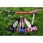 Kiddimoto - Sparkcykel - Fällbar - Pastel Dotty