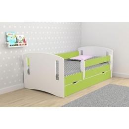 EuroToys - Juniorsäng Lime - låda och madrass 180x80 cm