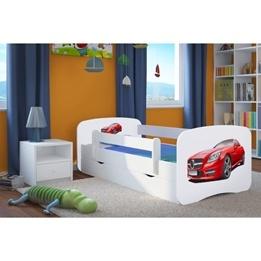 EuroToys - Juniorsäng - Mercedes - förvaring och madrass