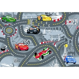 Disney - Barnmatta - World of Cars - 133 x 96