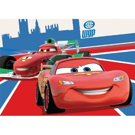 Disney - Barnmatta -Cars 2 - Bilxten McQueen - 133 x 95 cm