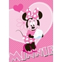 Disney - Barnmatta - Mimmi Pigg - Hjärta - 133 x 95 cm