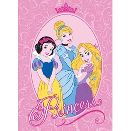 Disney - Barnmatta - Disney Princess  - 133 x 95 cm