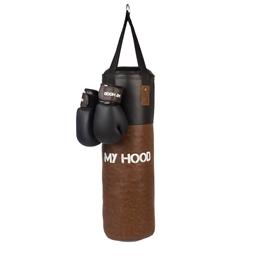 My Hood - Boxsäck Med Handskar - 15 Kg - Retro