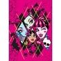Disney - Barnmatta - Monsters High - Checkers - 133 x 95 cm