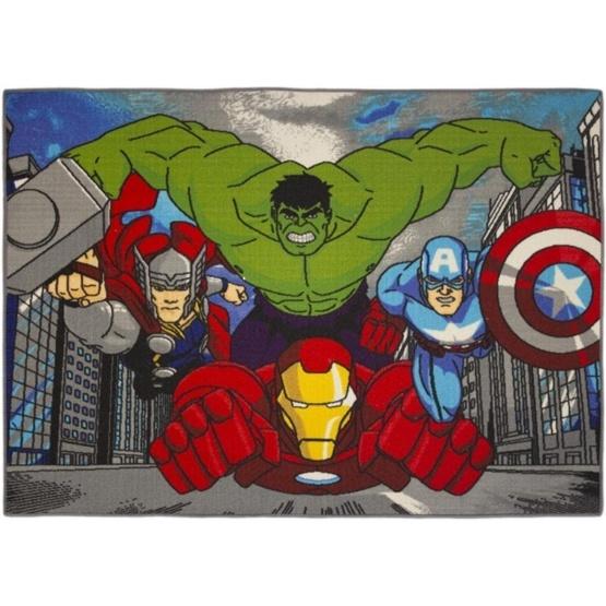 Disney - Barnmatta - Avengers - City - 133 x 95 cm
