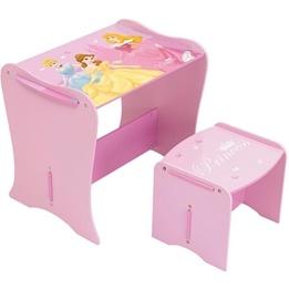 Worlds Apart - Disney Princess Skrivbord med Pall