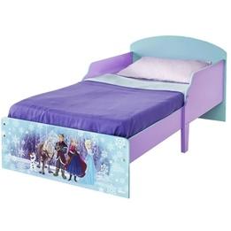 Disney Frozen - Juniorsäng - Frozen Familjen - Inklusive Madrass