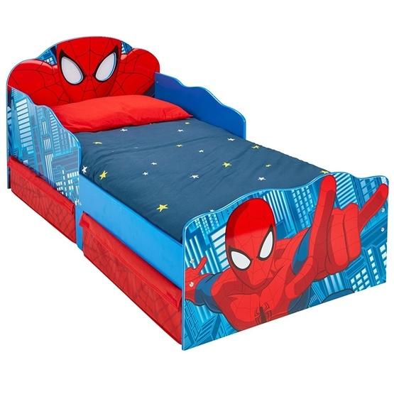 Worlds Apart - Juniorsäng - SpiderMan med Förvaring