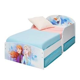 Disney Frozen - Juniorsäng m. Sänglådor - Anna & Elsa - Utan Madrass