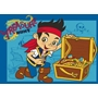 Disney - Barnmatta - Piraten Jake - Skattjakt - 133 x 95 cm
