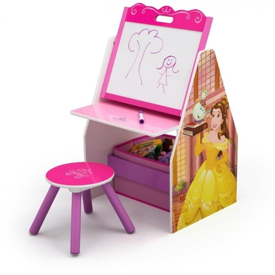 Worlds Apart - Disney Princess Aktivitetsbord med pall