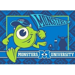 Disney - Barnmatta - Monsters University - 133 x 95 cm