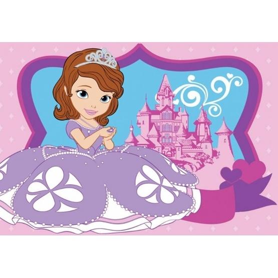 Disney - Barnmatta - Sofia Den första - Slottet - 133 x 95 cm