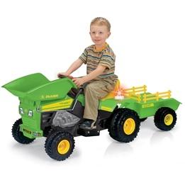 Injusa - Traktor Elbil 6V