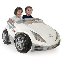 Injusa - Vit Racer Elbil 12V