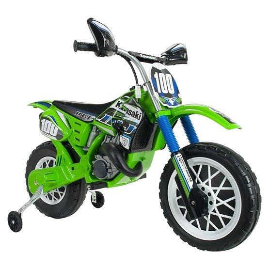 Injusa - Kawasaki Motorcykel 6V