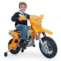 Injusa - Moto-Cross Thunder Motorcykel 12V