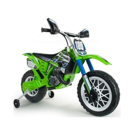 Injusa - Kawasaki Motorcykel 12V