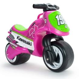 Injusa - Kawasaki Go Motorcykel - Rosa