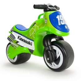 Injusa - Kawasaki Go Motorcykel - Grön