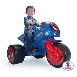 Injusa - Spiderman Motorcykel 6V - SpiderCycle