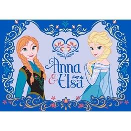 Disney - Barnmatta - Frost - Anna och Elsa 133 x 95 cm