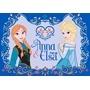 Disney - Barnmatta - Frost/Frozen - Elsa - 133 x 95 cm