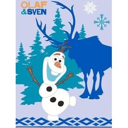 Disney - Barnmatta - Frost - Olaf och Sven - 133 x 95 cm