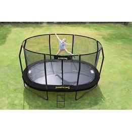 Jumpking - Studsmatta - Delux Oval - 460x305Cm