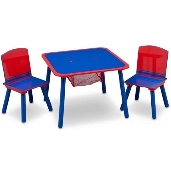 Worlds Apart - Bord och stolar - Blå/Röd