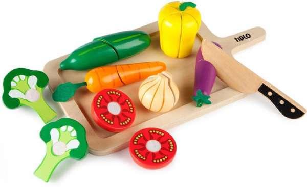Tidlo - Skära-Grönsaker-Set