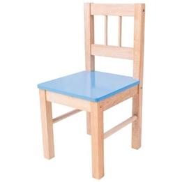 Bigjigs - Barnstol - Blå