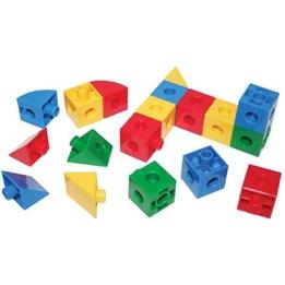 Bigjigs - Monteringssatser Kuber Och Trianglar