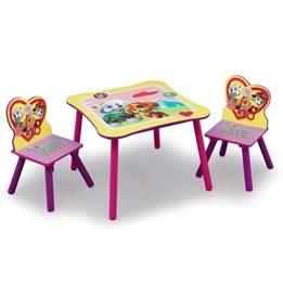 Worlds Apart - Paw Patrol - bord och stolar rosa/lila