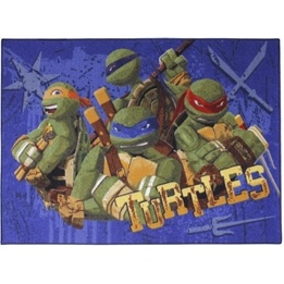 Disney - Barnmatta - Ninja Turtles - 133 x 95 cm