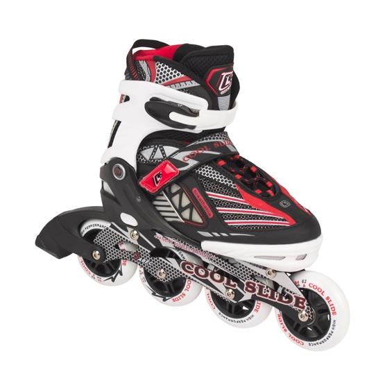 My Hood - Inlines - Coolslide Rollers Big Wheel - Röd