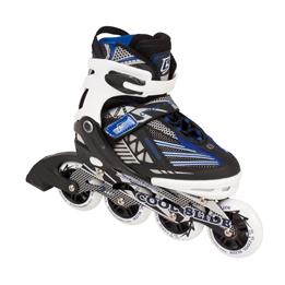 My Hood - Inlines - Coolslide Rollers Big Wheel - Blå - Str 35-38