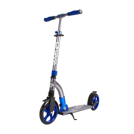 My Hood - Sparkcykel - Curve - Grå/Blå