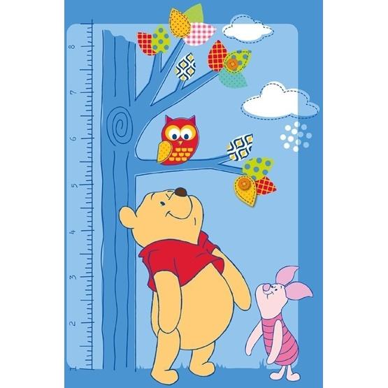 Disney - Barnmatta - Nalle Puh - Mätsticka - 133 x 95 cm
