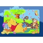 Disney - Barnmatta - Nalle Puh - Picknick - 133 x 95 cm